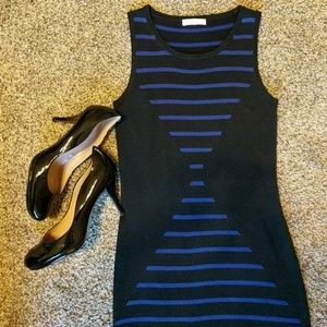 Trina Turk Striped Knit Dress XS/S
